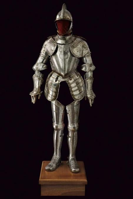 Czerny's International  - Armatura alla pisana composita, 1589, stima 35.000 €, venduto a 35.000