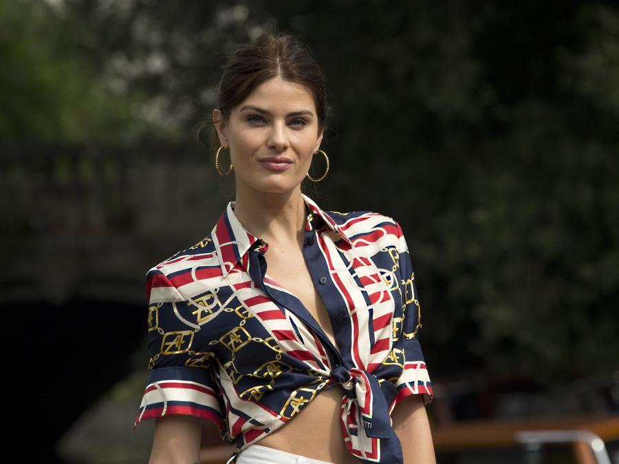 La modella Isabeli Fontana. (Photo by Joel C Ryan/Invision/AP)