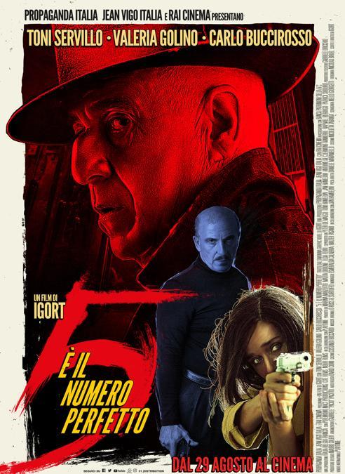 La locandina del film :«5 è il numero perfetto»