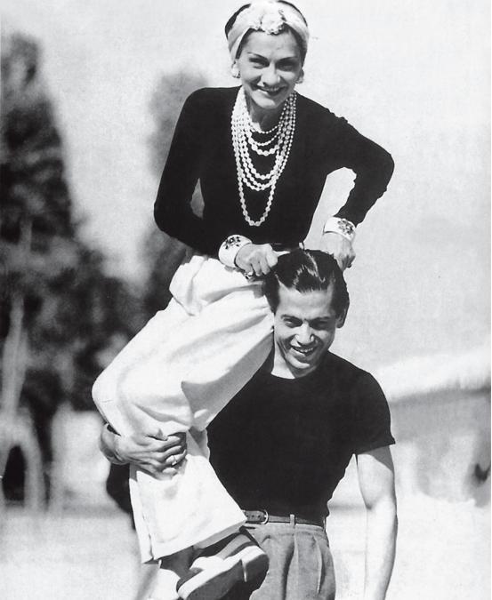 Coco Chanel e Fulco di Verdura