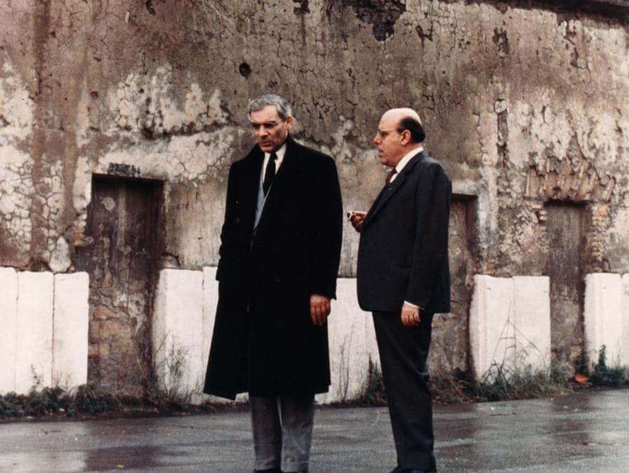 Gian Maria Volonté in Lucky Luciano (1974) di Francesco Rosi (Afp)