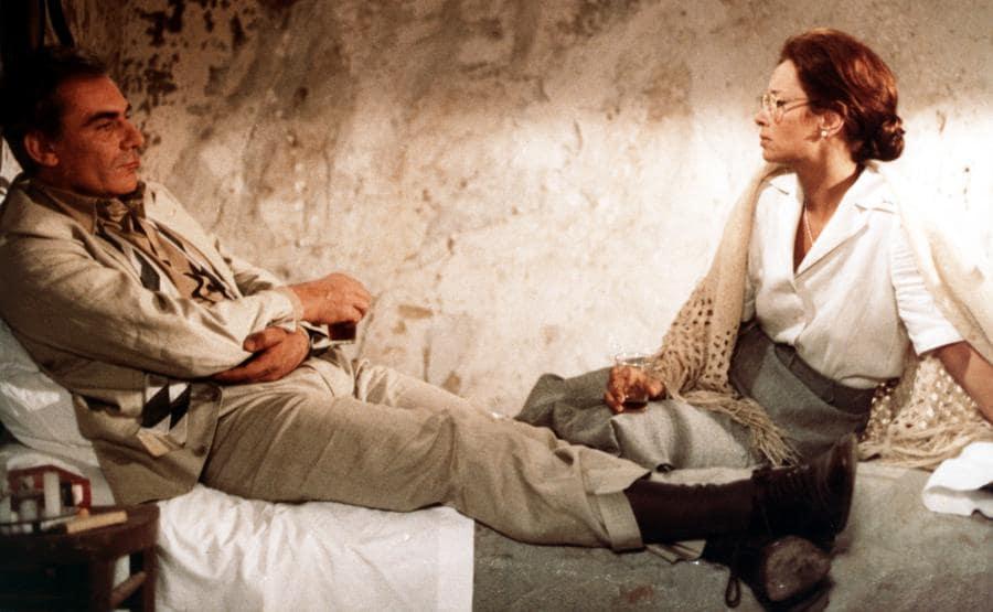 Gian Maria Volonté e Lea Massari nel film Cristo si è fermato a Eboli (1979) di Francesco Rosi (Afp)
