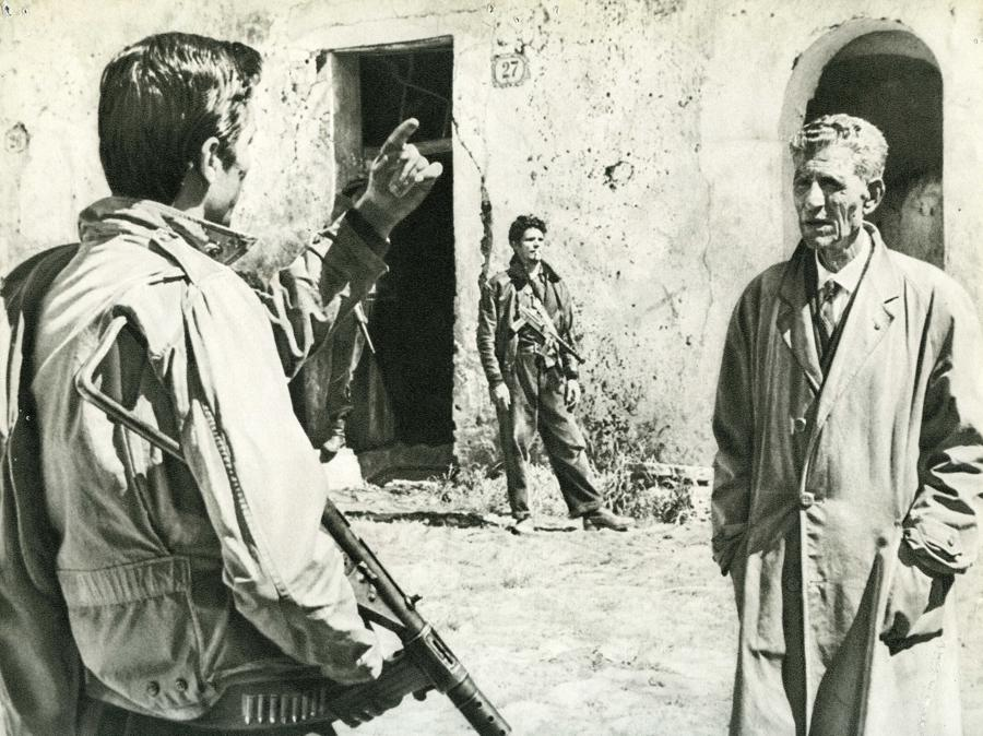 Una scena dal film Salvatore Giuliano (1962) di Francesco Rosi (Afp)