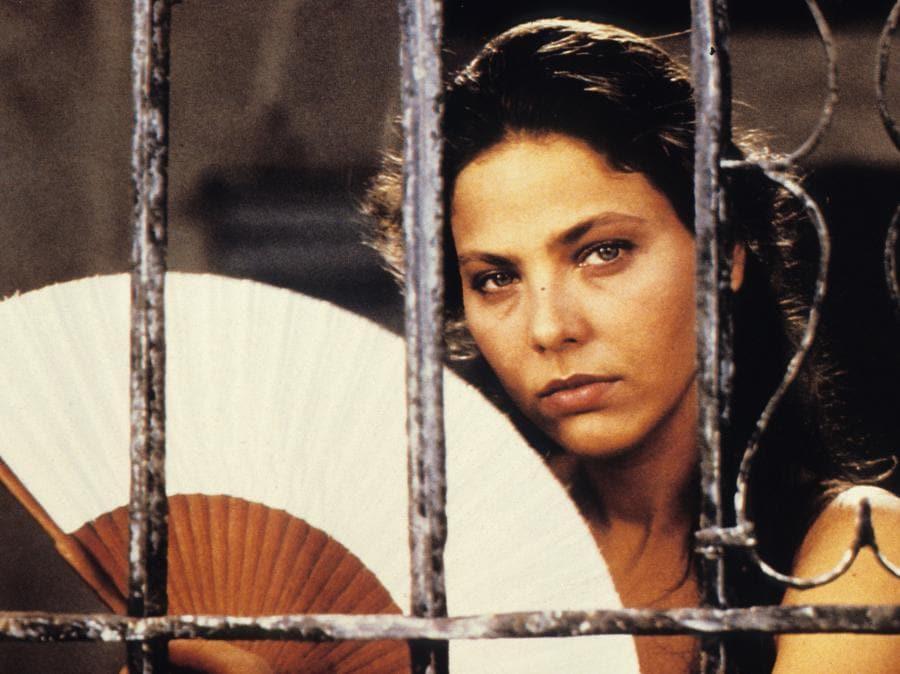 Ornella Muti nel film  Cronaca di una morte annunciata (1987)  di Francesco Rosi (Afp)