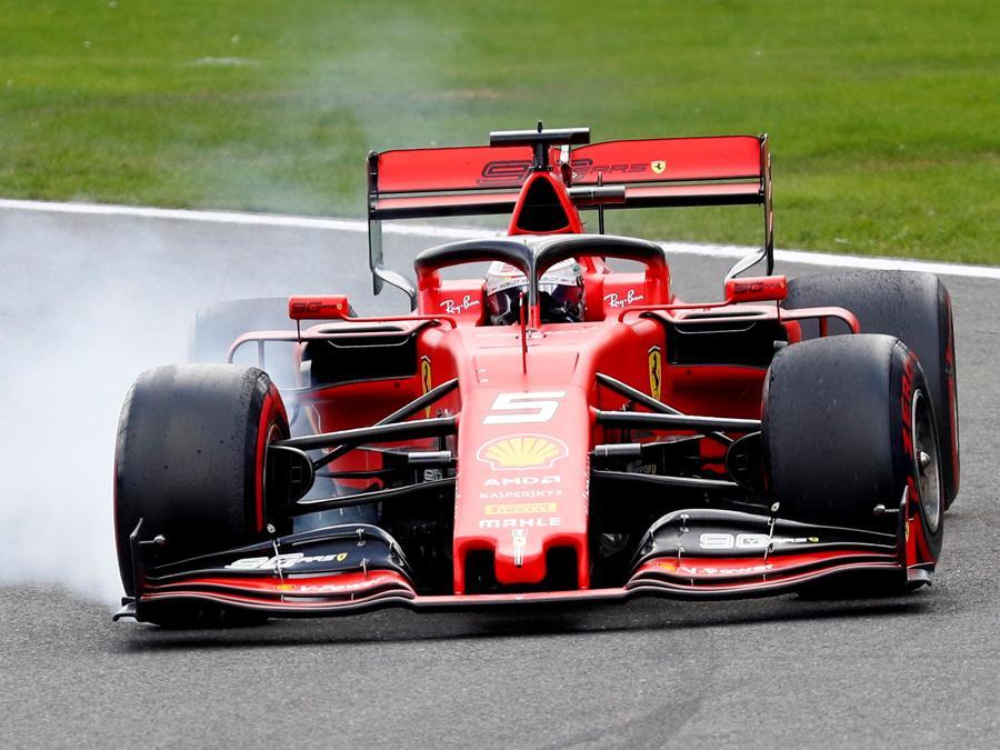 La Ferrari di  Sebastian Vettel  (REUTERS/Francois Lenoir)