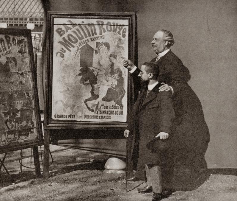 Lautrec con Tremolada al Moulin Rouge nel 1890