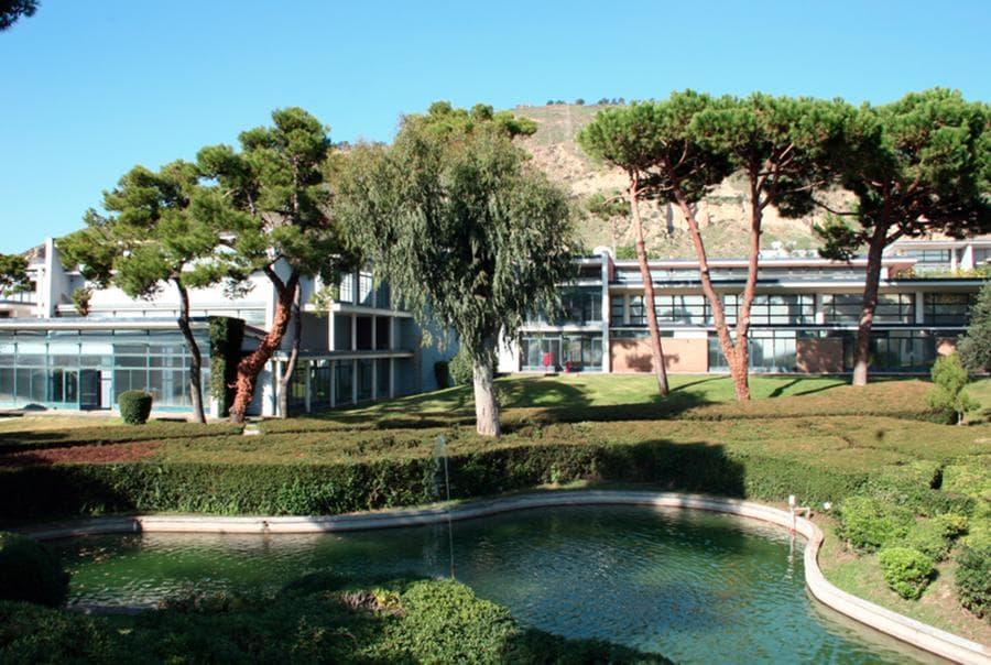 In una foto di Barbara Jodice una panoramica dell'impianto costruito  su disegno dell'architetto Luigi Cosenza (Barbara Jodice)