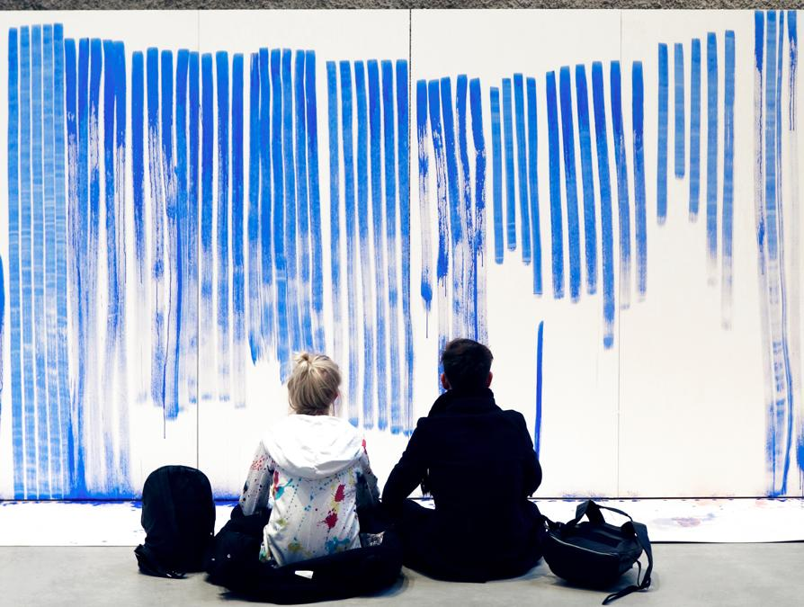 Breathing Watercolours. Germania (photo by Catharina Förster / Studio Jeppe Hein - courtesy Jeppe Hein)