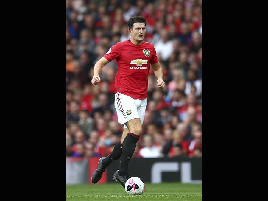 Il 26enne difensore, Harry Maguire, acquistato dal Manchester United. Nelle casse del Leicester 87 milioni di euro. (Ap)