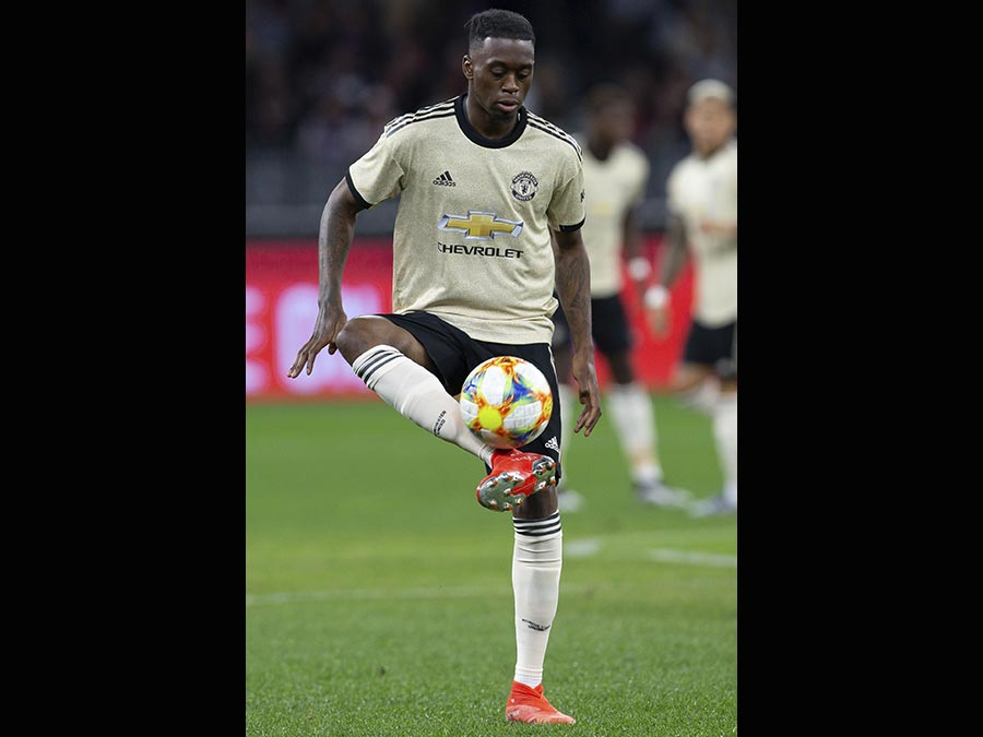Il 21enne difensore inglese, Aaron Wan Bissaka, acquistato dal Manchester United. Al Crystal Palace 55 milioni di euro. (Ap)