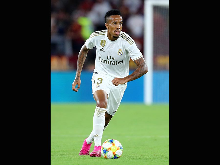 Il 21enne difensore brasiliano Eder Militao, acquistato dal Real Madrid. Al Porto 50 milioni di euro. (Afp)