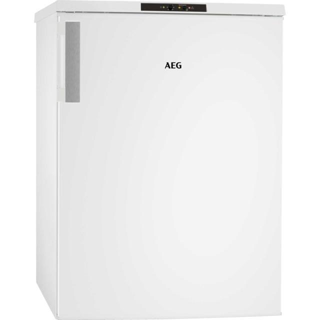AEG, ATB81121AW, verticale, classe A++, capacità 90 litri, autonomia senza elettrictà 24 ore, 3 cassetti con uno molto capace per confezioni ingombranti; il display esterno elettronico consente in ogni momento di controllare la temperatura.