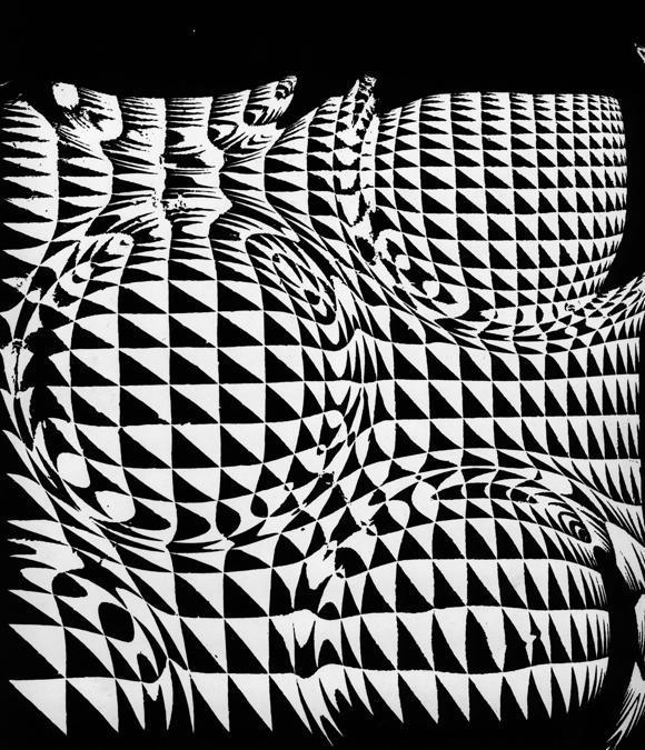 Franco Grignani, Senza Titolo, anni '50, Gelatina bromuro d'argento/carta, 30x24, Mufoco, Museo di fotografia contemporanea