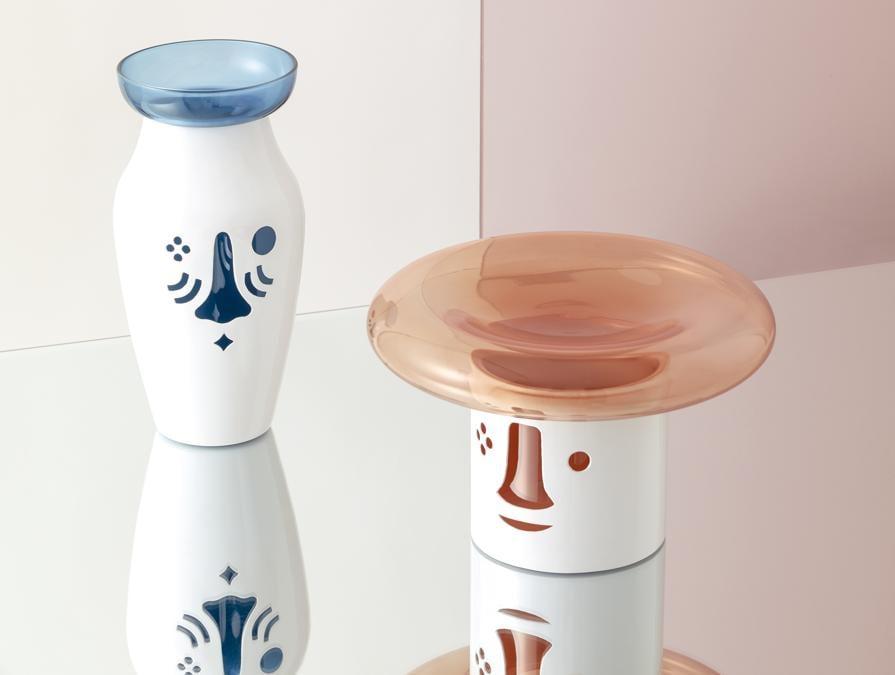 Fun-Tional Collection, di Jaime Hayon per Paola C. Collezione di oggetti surreali per la tavola, realizzati attraverso una sofisticata lavorazione del metallo che rende lo stile giocoso di Hayon anche funzionale.