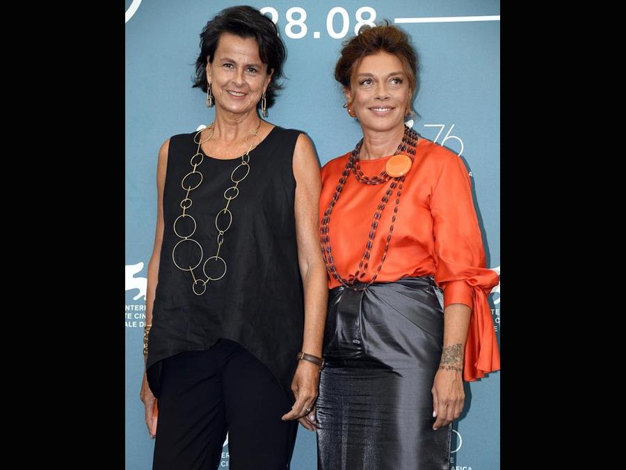 Da sinistra, Adele Gnocchi con Carolina Rosi