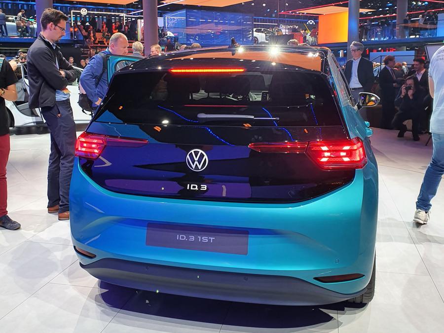 Volkswagen ID.3 (credit Mario Cianflone/ Sole 24 Ore)