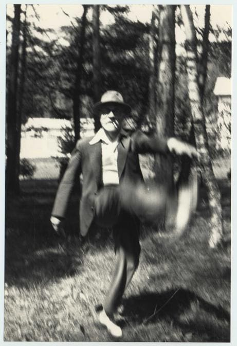 Henri Matisse à Beauvezer, 1935, archives Henri Matisse DR