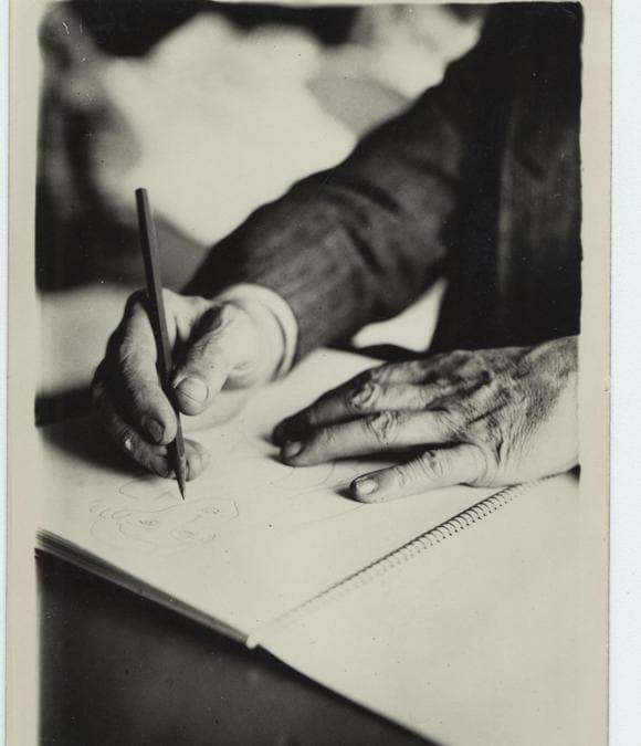 Henri Matisse dessine, 1931, archives Henri Matisse DR