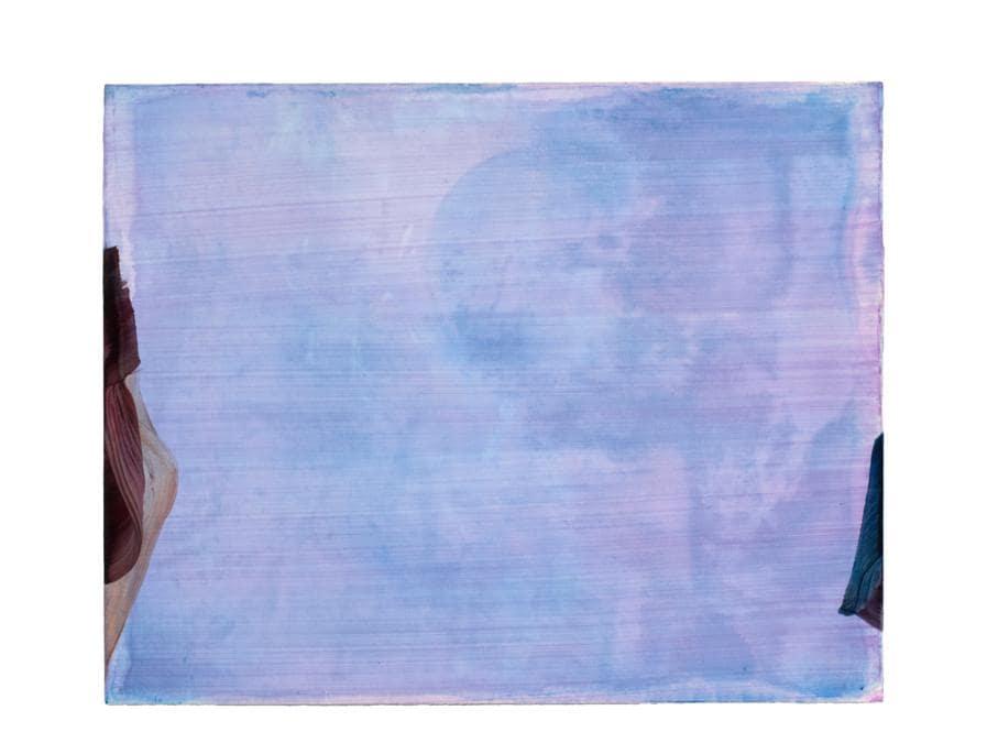 Markus Saile, untitled 2018, olio su tavola 33x41cm, opera venduta ad ArtVerona da A+B Gallery (Brescia). Il range di prezzo dell'artista va da 1.200 a 5.200 euro