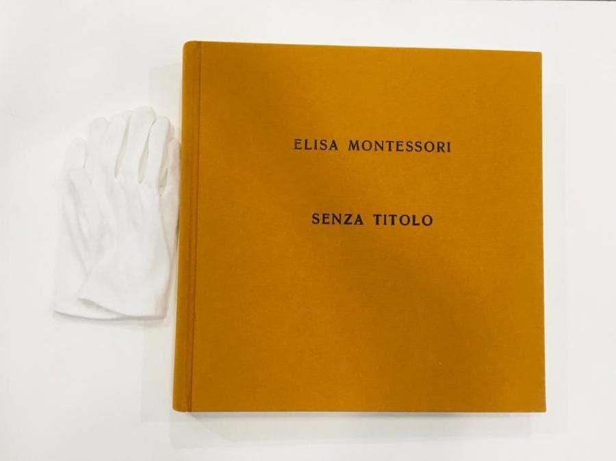 Elisa Montessori, Senza titolo, 2019, Libro d'artista, opera venduta ad ArtVerona dalla galleria Monitor (Roma, Lisbona, Pereto), prezzo opera 5.000 euro