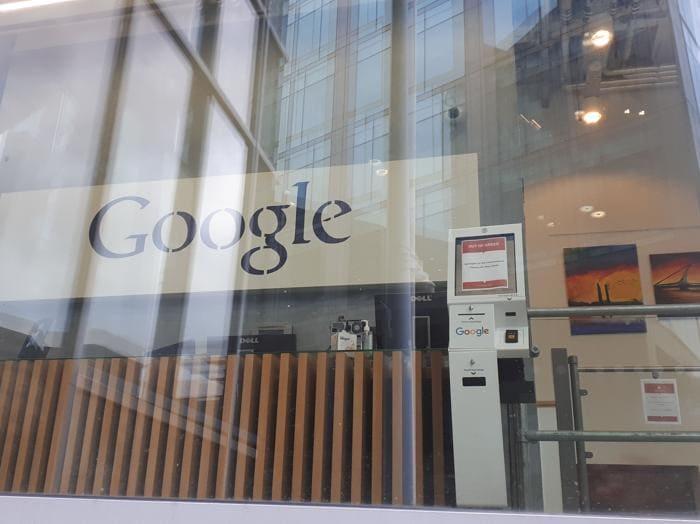 La sede di Google a Dublino in Barrow Street, nella zona del Grand Canal