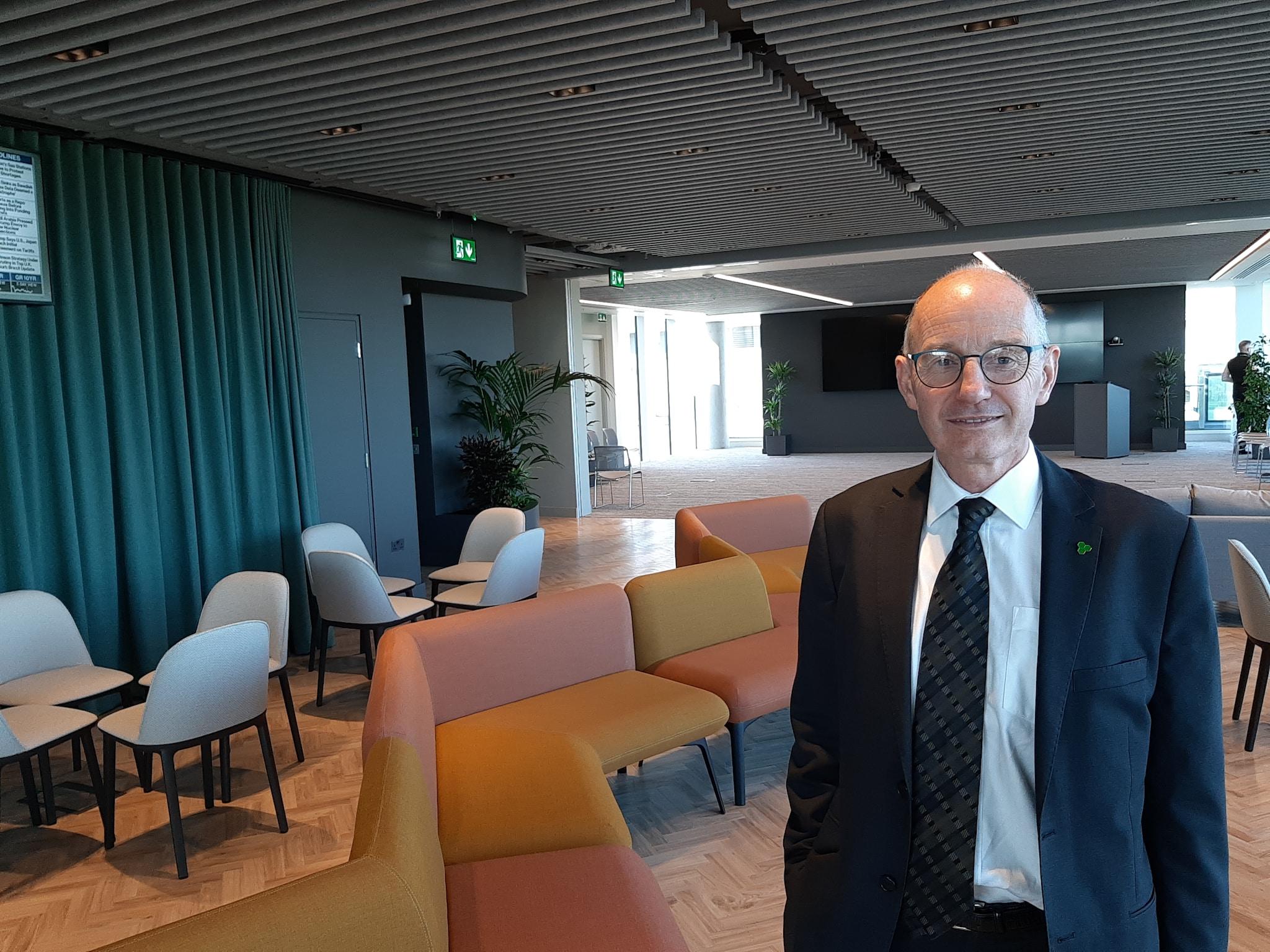 Tommy Fanning, capo del settore Biopharmaceuticals & Food di Ida Ireland