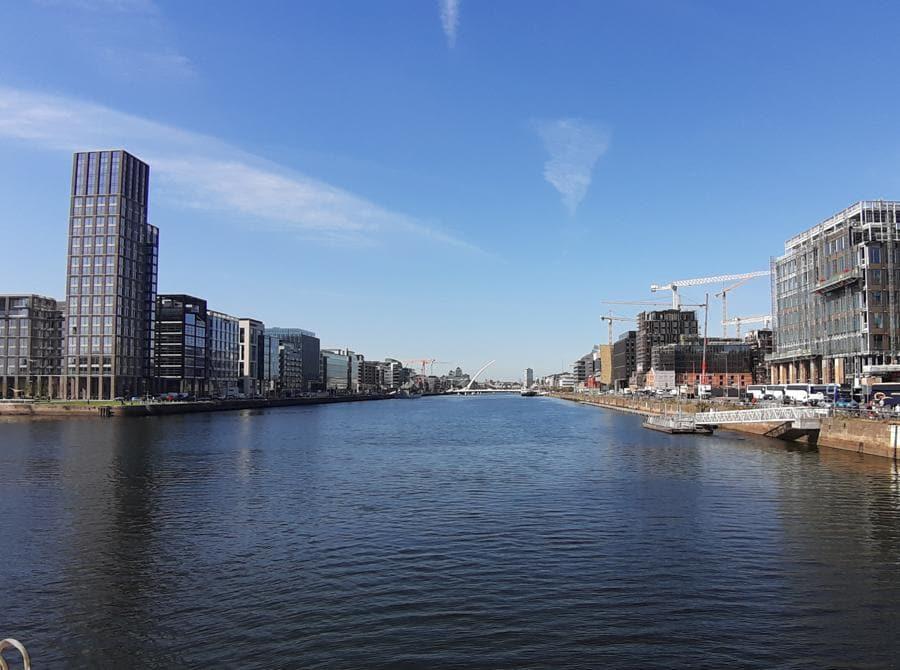 Un'altra immagine del Grand Canal