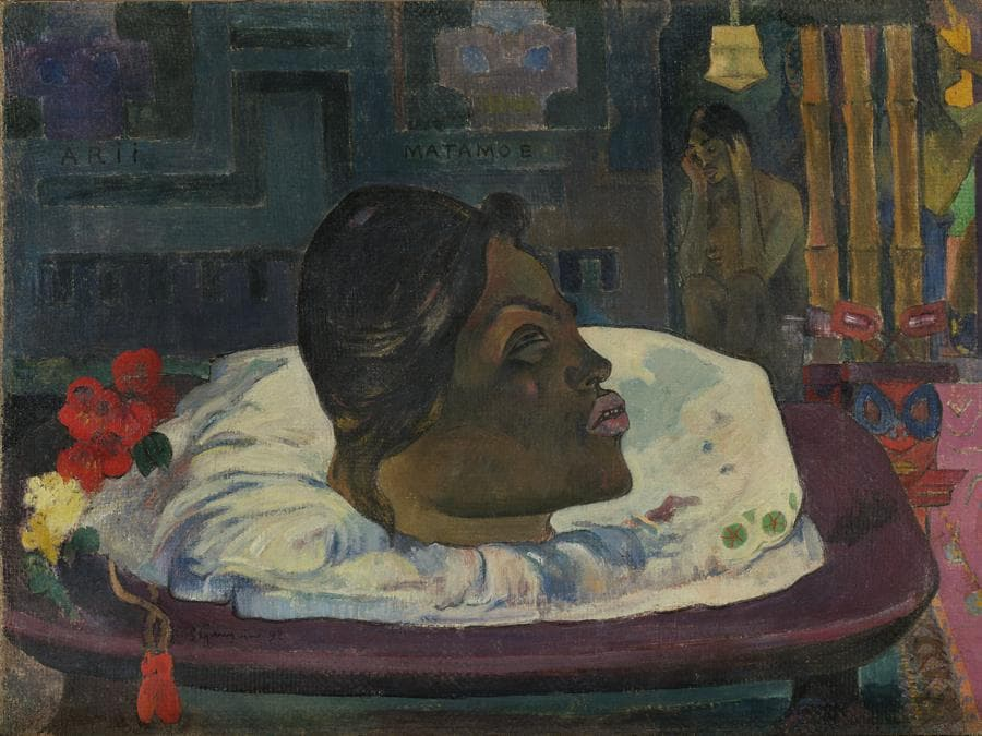 Paul Gauguin, Arii Matamoe (The Royal End), 1892. Oil on canvas, 45.1 × 74.3 cm. The J. Paul Getty Museum, Los Angeles (2008.5). Digital image courtesy of the Getty's Open Content Program