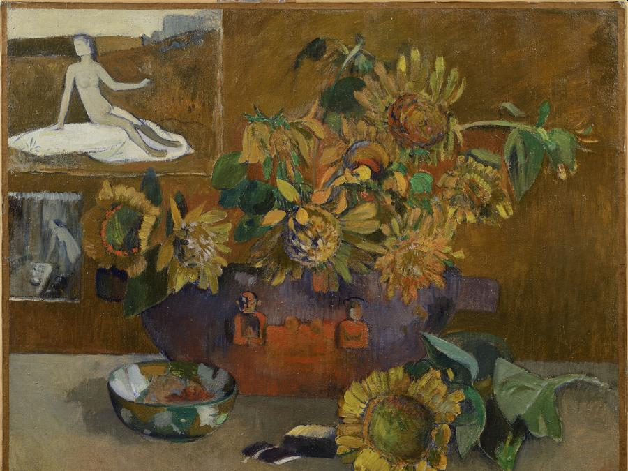 Paul Gauguin, Still Life with Hope, 1901. Oil on canvas, 66 × 77 cm. Private collection - Milano, Italy.  Photo courtesy of the owner