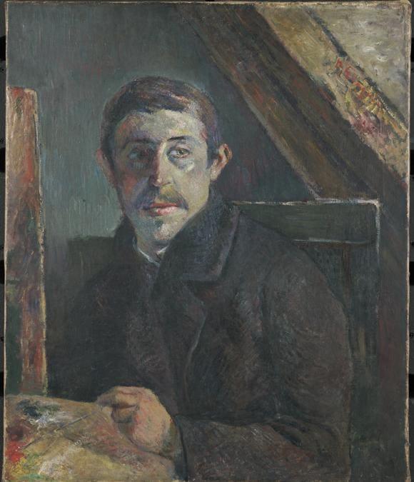 Paul Gauguin, Self-Portrait, 1885. Oil on canvas, 65.2 × 54.3 cm.  Kimbell Art Museum, Fort Worth, Texas (AP 1997.03)