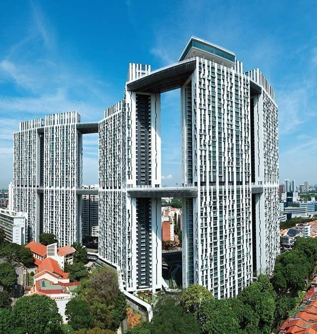 The Pinnacle a Singapore Duxton ARCStudios via CTBUH