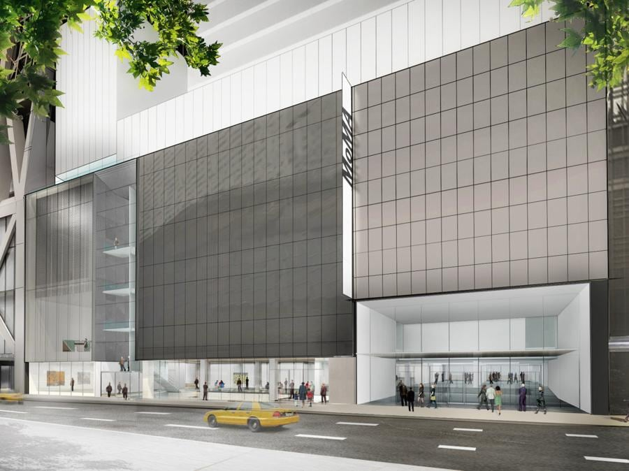 Rendering 3D del nuovo MoMa costato 450 milioni di dollari dalla 53esima strada  (credit: © 2017 Diller Scofidio + Renfro)