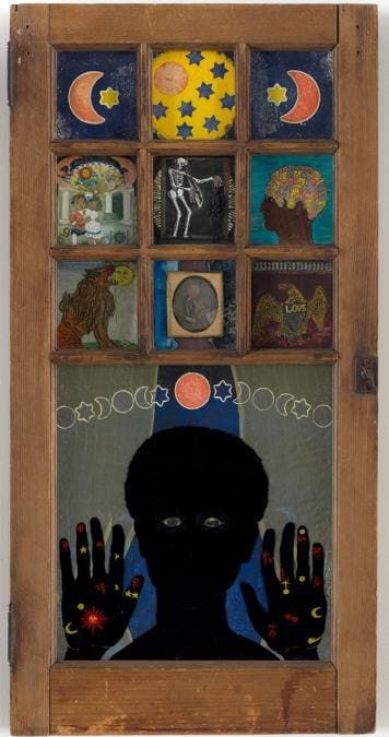 L'opera iconica di Betye Saar «Black Girl's Window», che rappresenta il mondo interiore dell'artista, visto da una finestra. Il nuovo MoMa ha quintuplicato le opere di artiste donne rispetto al passato (credit: © The Museum of Modern Art, New York, foto di Rob Gerhardt)