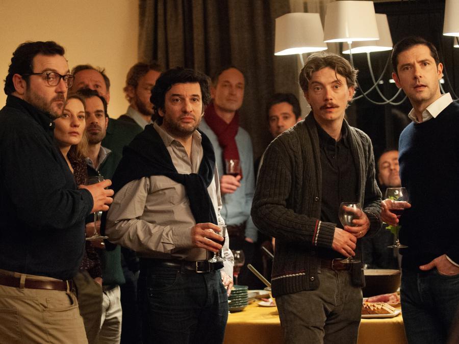 Denis Ménochet, Eric Caravaca, Swann Arlaud, Melvil Poupaud