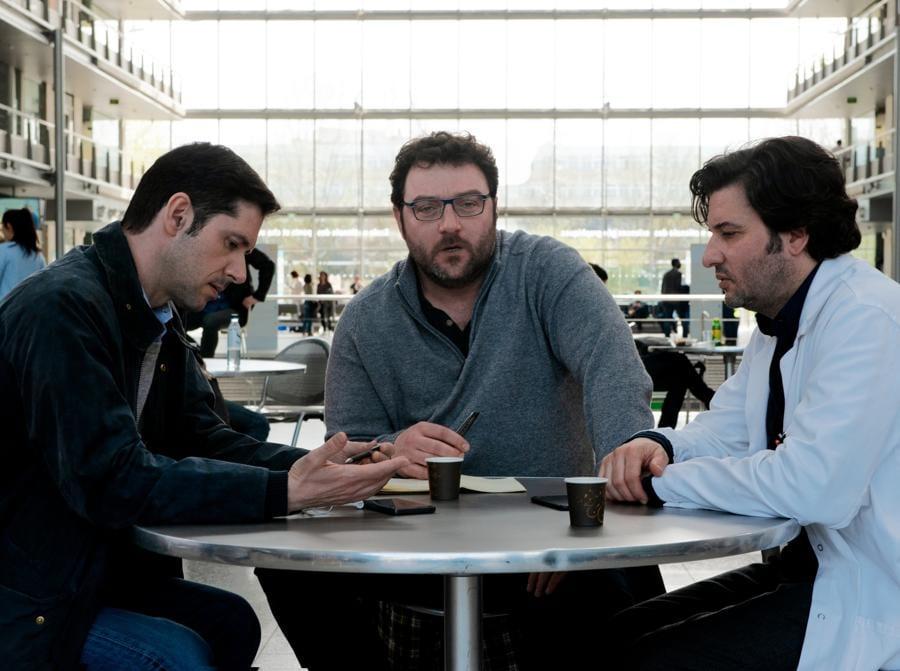 Melvil Poupaud, Denis Ménochet, Eric Caravaca
