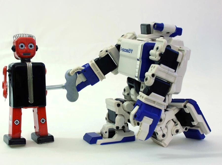 I-Sobot e Robot a molla
