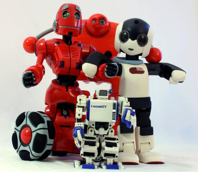 Nuvo - Robi,  Tri-Bot e I-Sobot