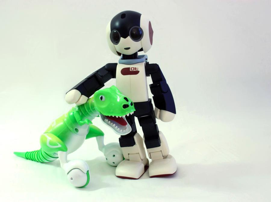 Robi e Zoomer Dino