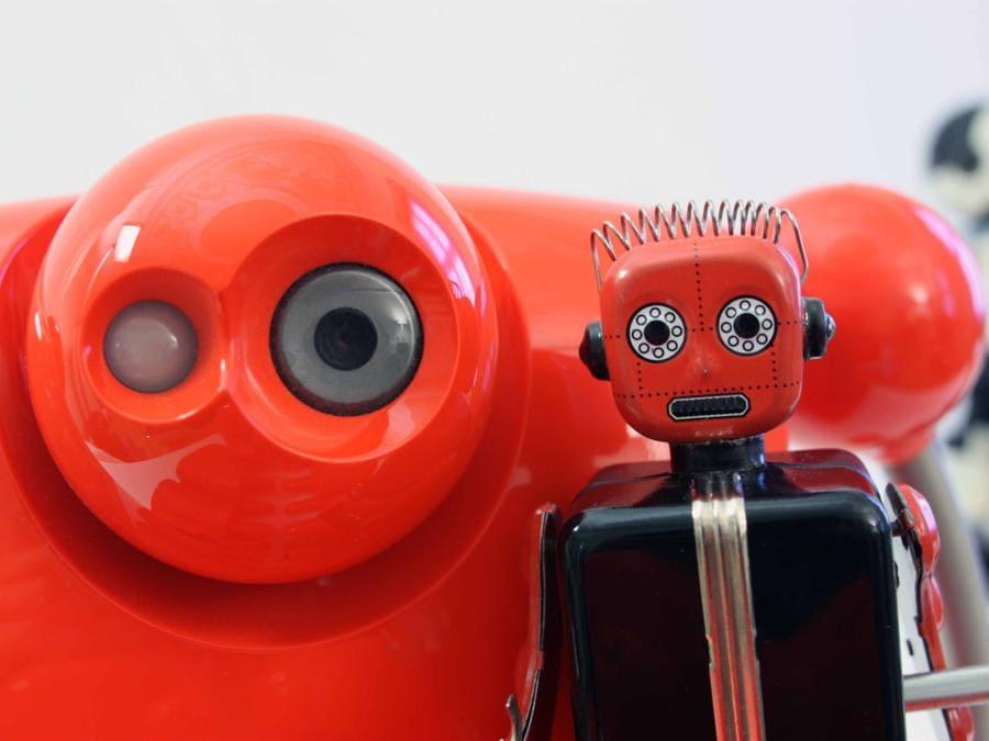 Robot a molla e Nuvo