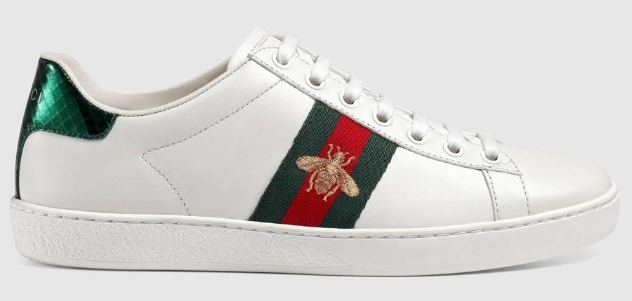 Le sneakers da donna più cercate: al primo posto, le Gucci Ace con richiamo ape