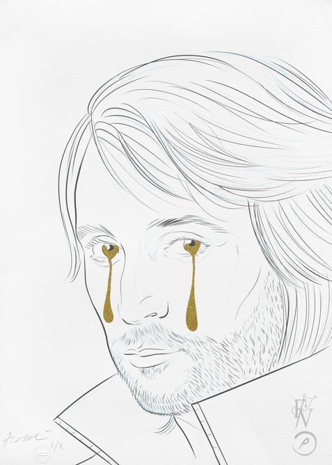 Francesco Vezzoli, Take My Tears, 2018 (Courtesy Treccani Arte)