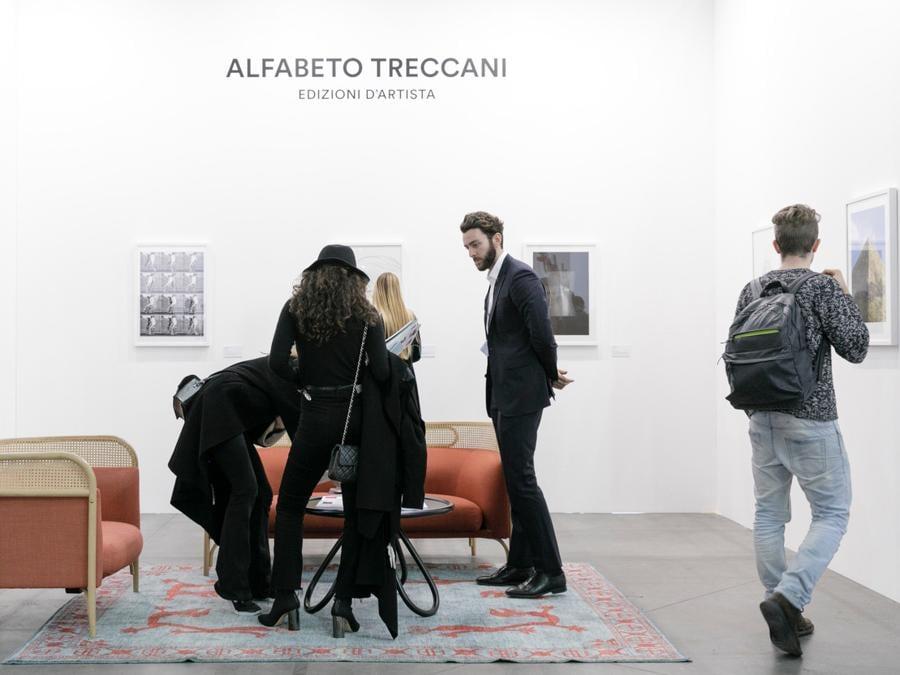 Treccani Arte, Artissima 2018 (Photo: Perottino - Piva - Bottallo.  Artissima)