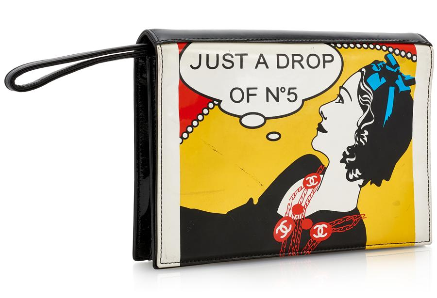 Just a drop of No.5 comic clutch, 2001 (est. €100 - 200)