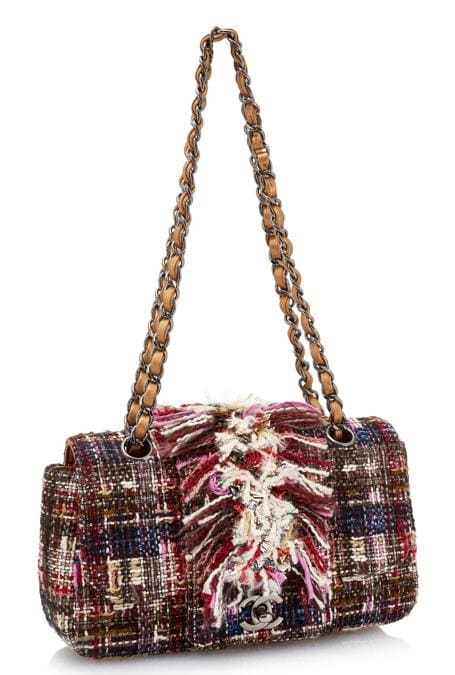 Borsa multicolor in tweed (base d'asta 500 – 1,000 euro)