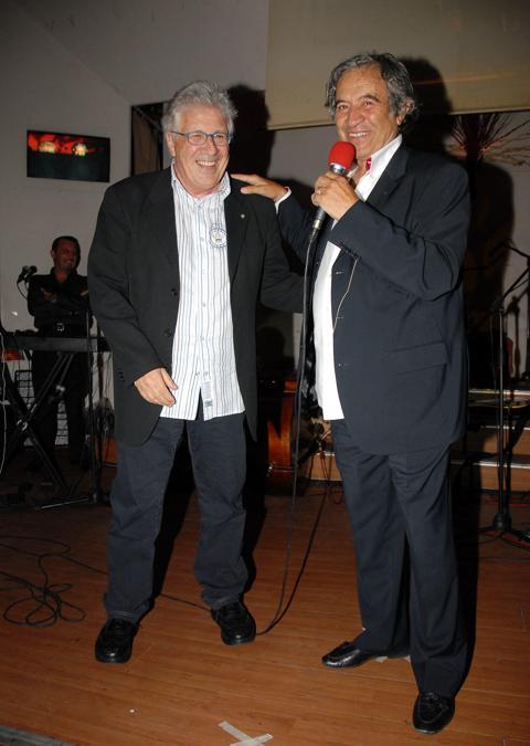 Fred Bongusto con Peppino Di Capri (Vincenzo Landi Arc / IPA/Fotogramma)