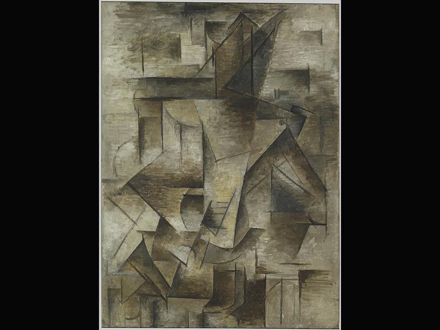Pablo Picasso « Le guitariste» 1910