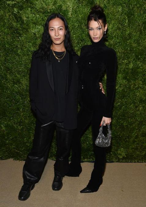 Alexander Wang e Bella Hadid