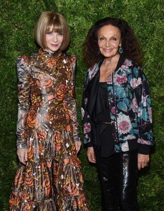 Anna Wintour e Diane von Furstenberg