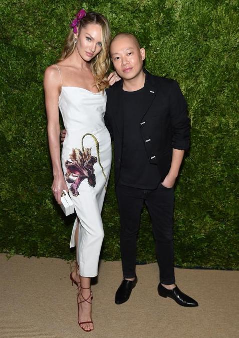 Candice Swanepoel e Jason Wu