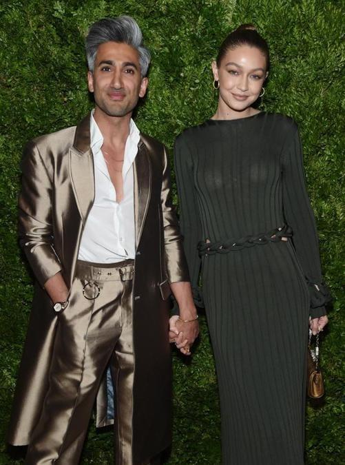 Tan France e Gigi Hadid
